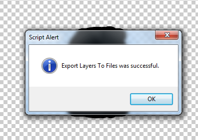 Export layers to seperate files in photoshop 4