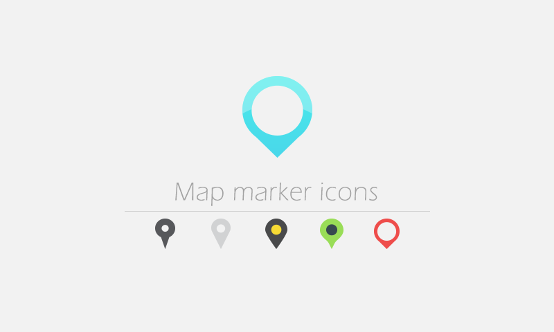 Free Download: 30 Map Marker Vector Icons - Dreamstale com
