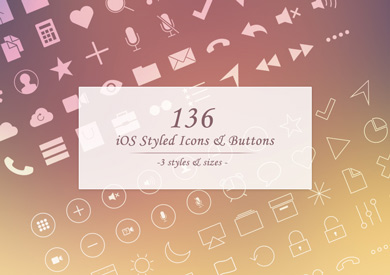 136-premium-ios-styled-icons-and-buttons1