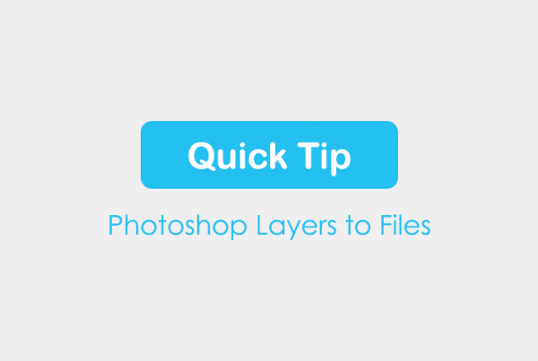 Export Photoshop Layers to Files