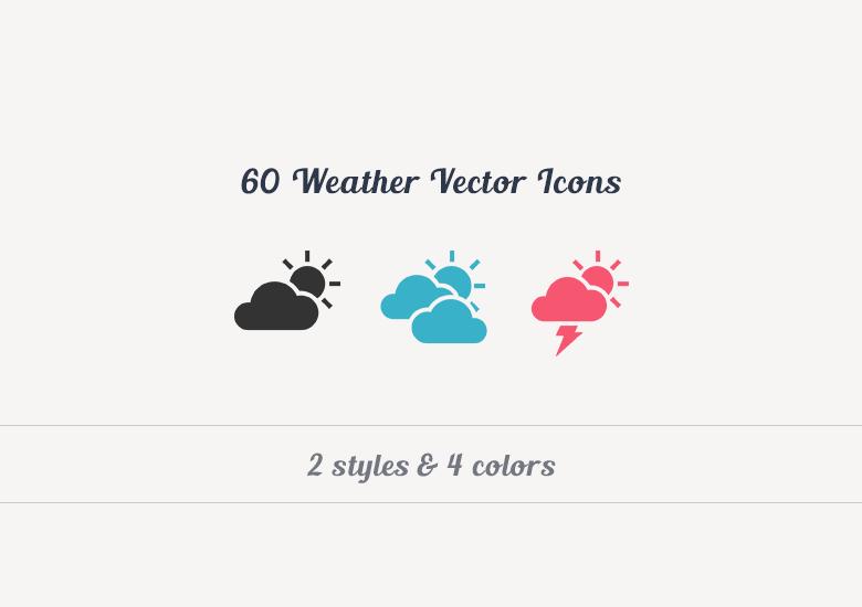 60 premium weather vector icons