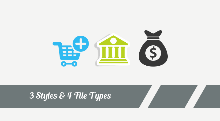 Download 120 business ecommerce vector icons preview