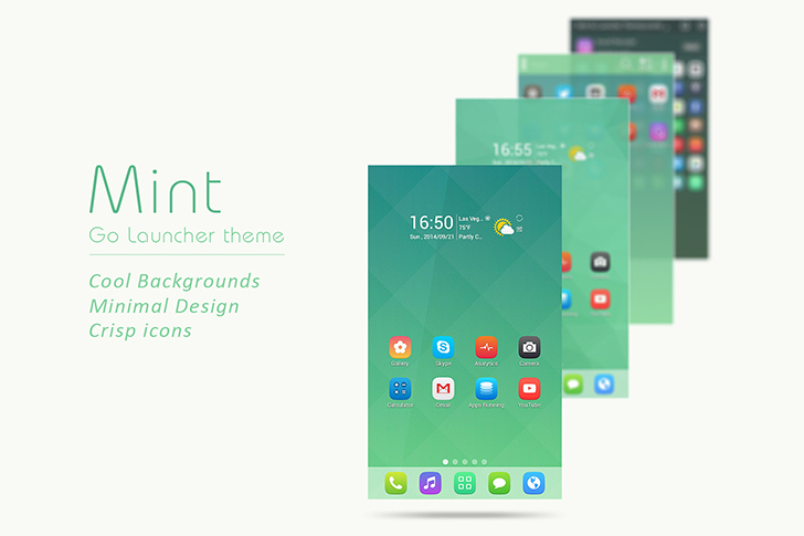 Mint free go launcher ex theme