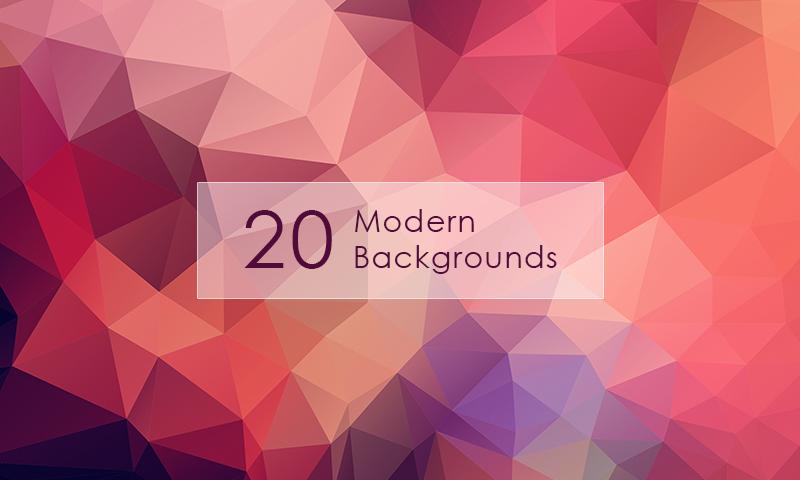 Freebie: 20 Modern Backgrounds - Dreamstale