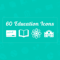 Freebie: 60 Education Vector Icons