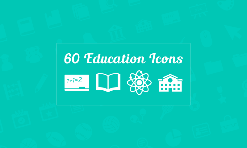 freebie 60 education vector icons by dreamstale