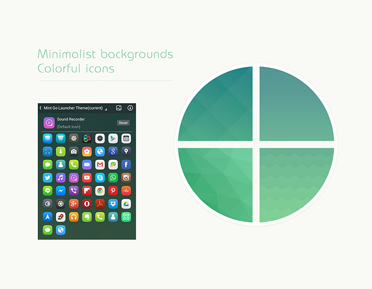 mint go launcher theme preview 2