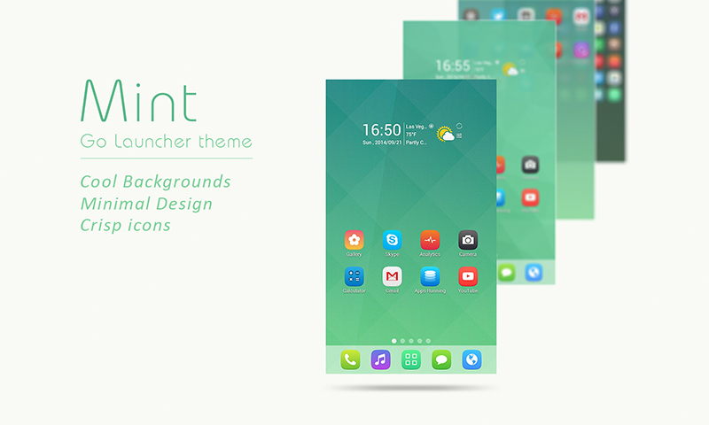 mint go launcher theme preview