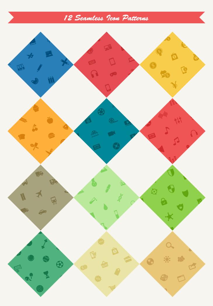 12-seamless-icon-patterns-lrg