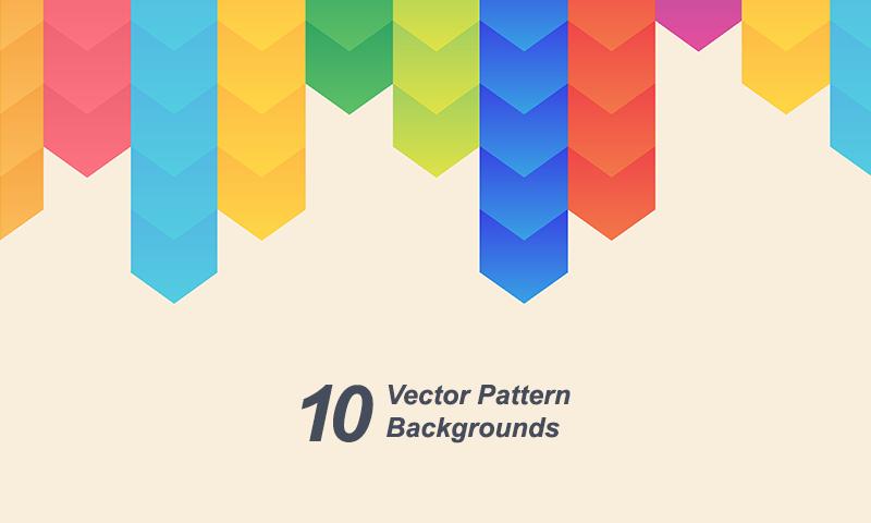 freebie 10 free vector pattern backgrounds