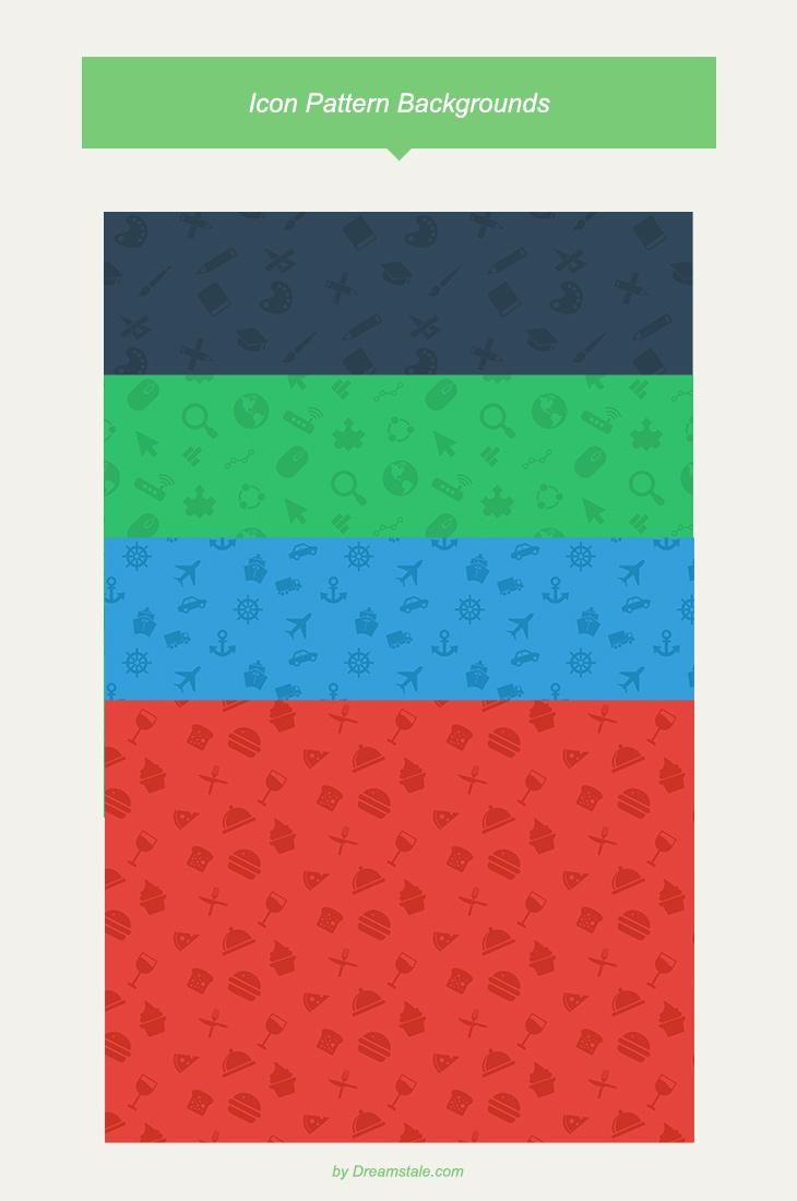 freebie icon pattern backgroundsprevew