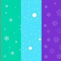 Freebie: Seamless Christmas Backgrounds Set