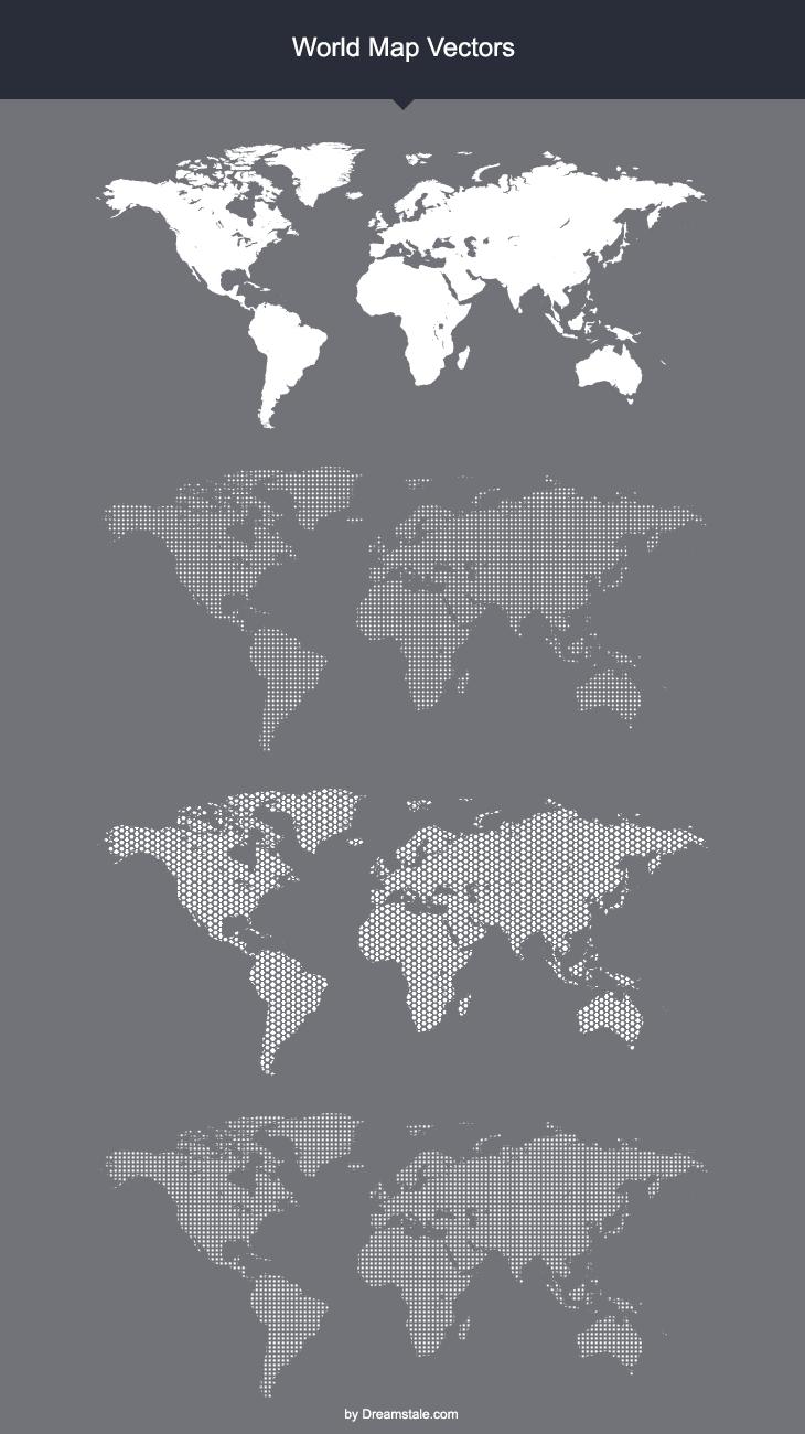 Freebie: World Map Vectors