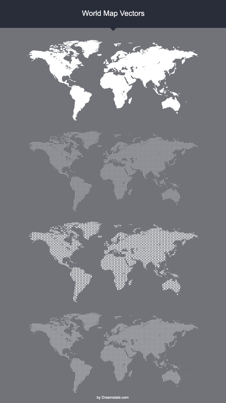 download world map vectors by dreamstale