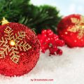 Freebie: Christmas Bokeh Picture