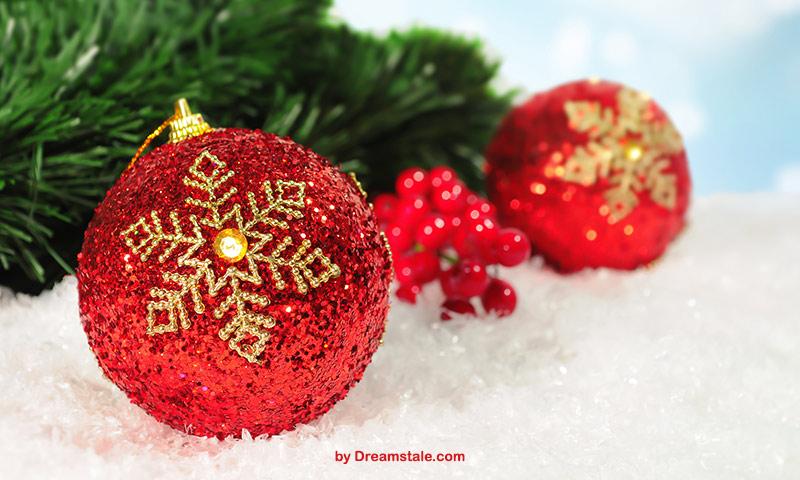 Christmas bokeh picture freebie