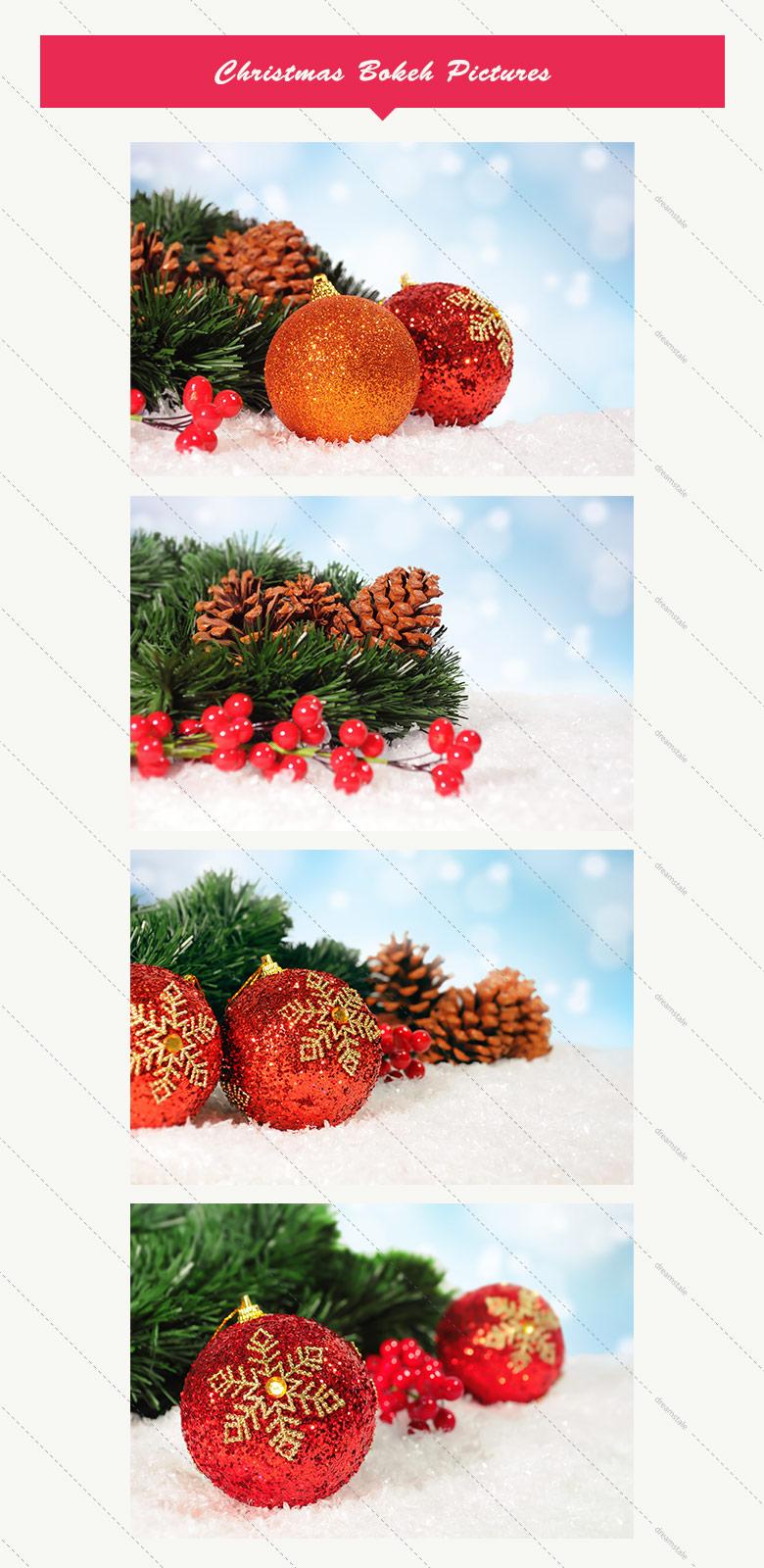 Premium Christmas Bokeh pictures