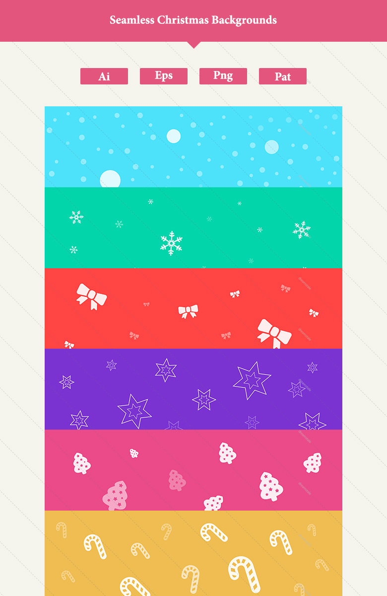 download 12 premium seamless christmas backgrounds 2
