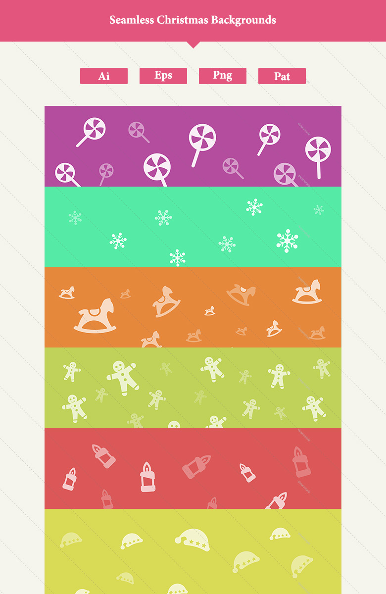 download 12 premium seamless christmas backgrounds 3