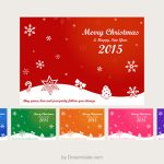 Freebie: Christmas Card Vectors
