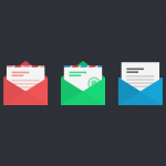 Freebie: Flat Vector Mail Icons