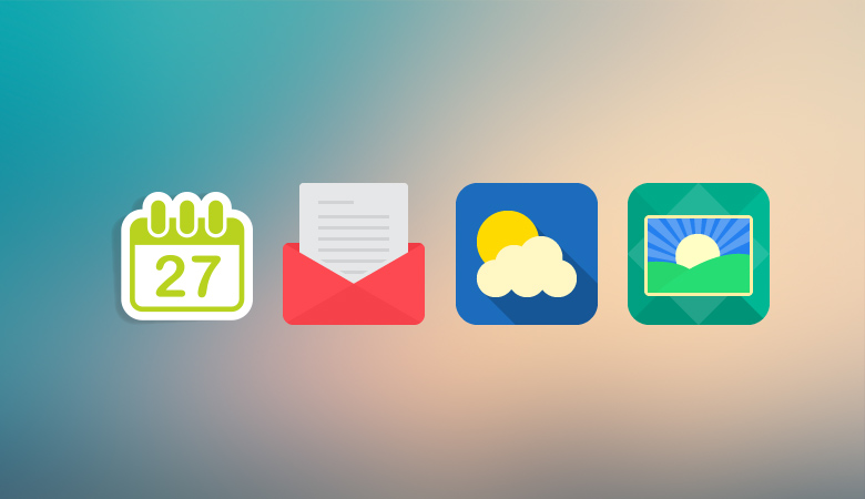 flat icons design ft featured