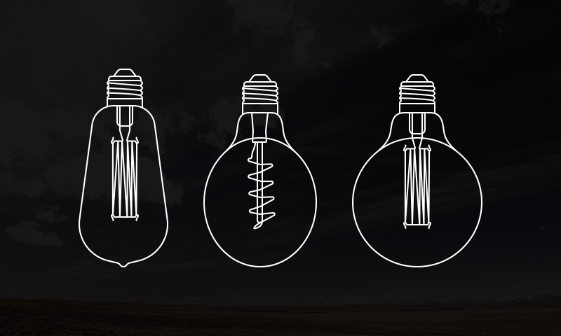 freebie light bulb vectors icons