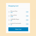 Freebie: Shopping Cart Design Templates
