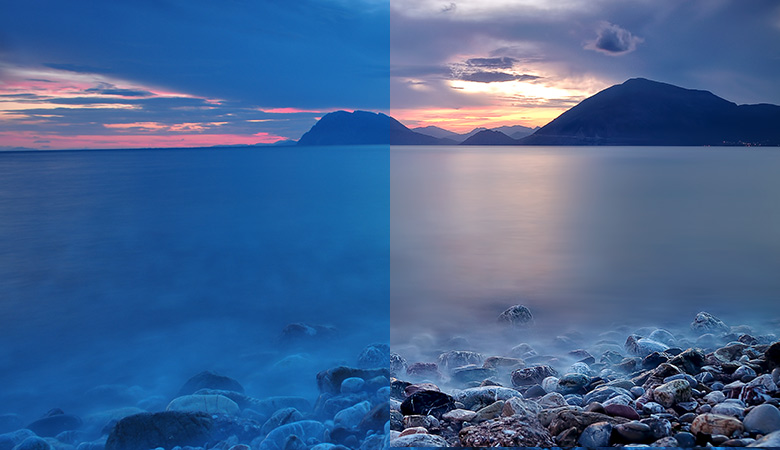 landscape retouch color correction small ft
