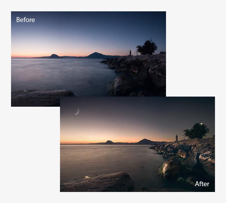landscape retouch example 1