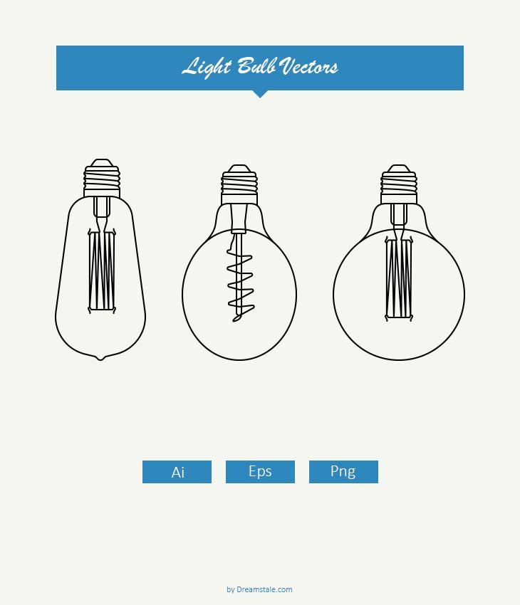 light bulb vectors