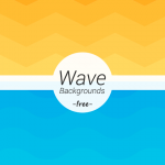 Freebie: Wave Geometric Backgrounds