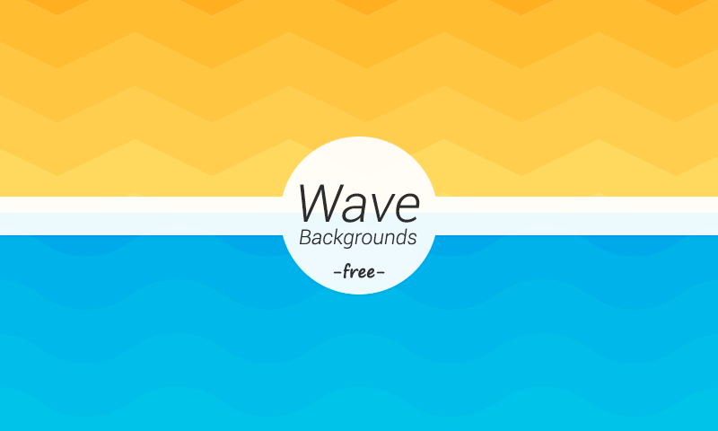 freebie wave geometric backgrounds