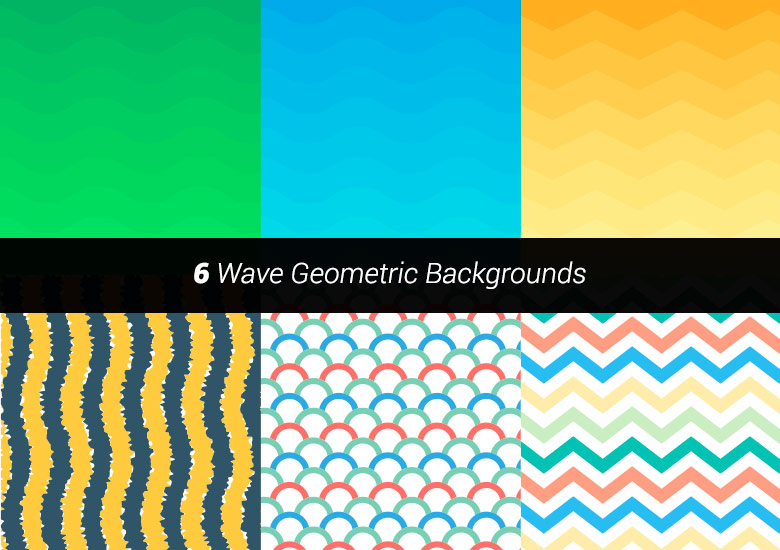 premium vector wave geometric backgrounds