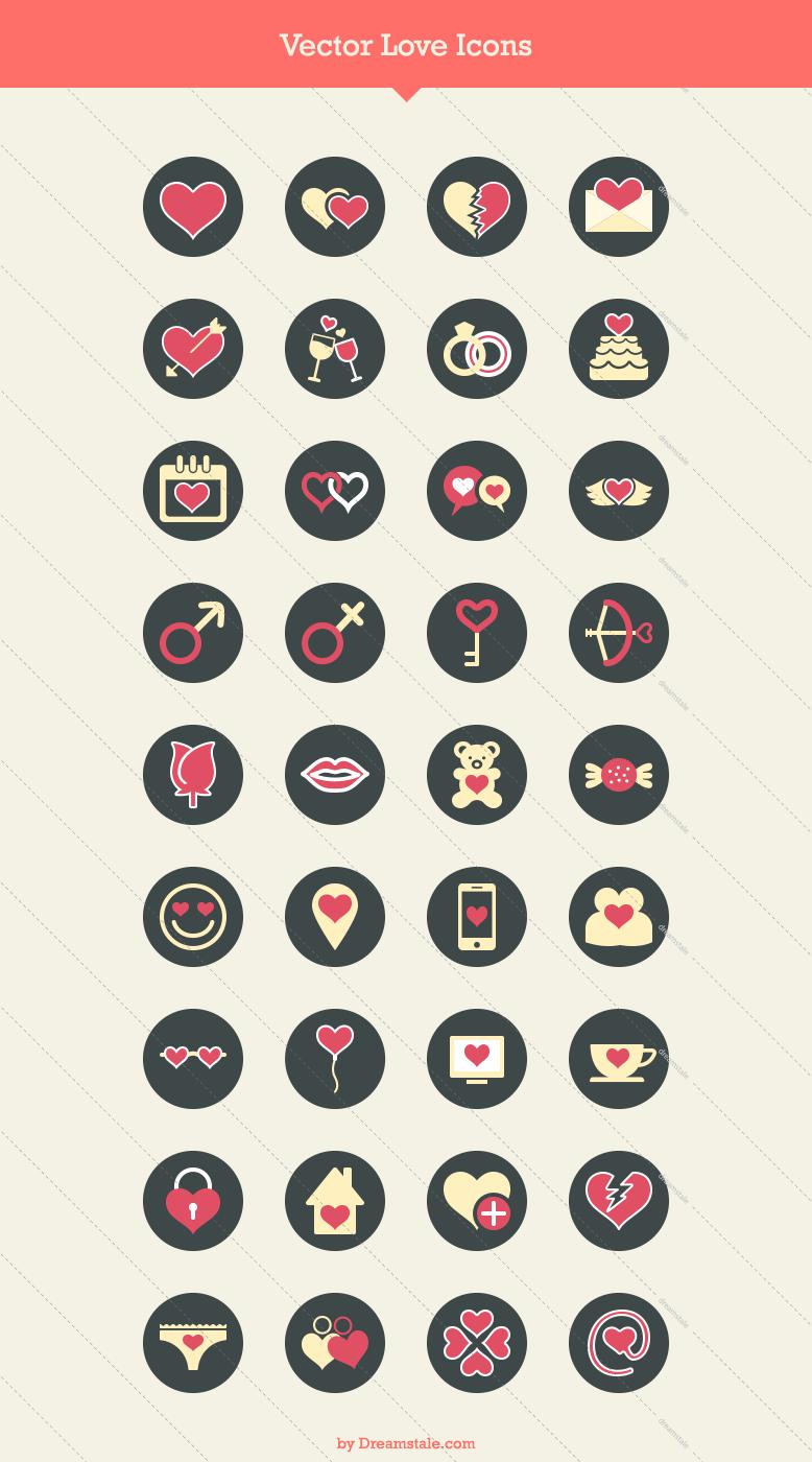 36 premium love icons 1