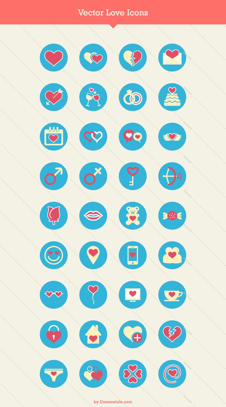 36 premium love icons 2