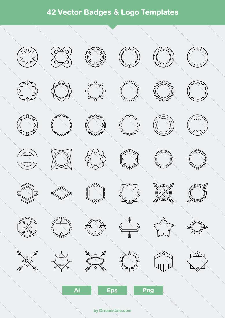 42-vector-badges-logo-templates-large