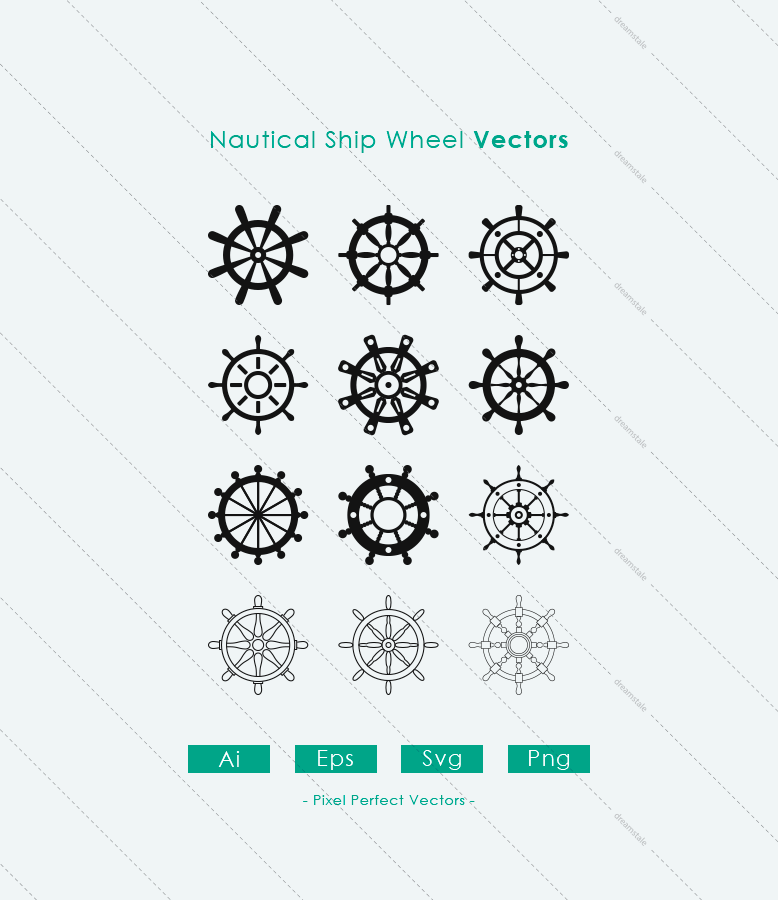 Nautical-Ship-Wheel-Vectors-preview1