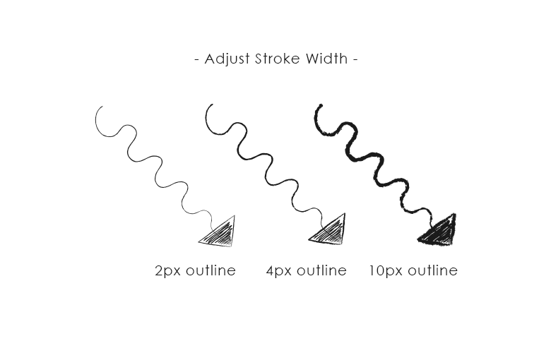 abjust-stroke-width