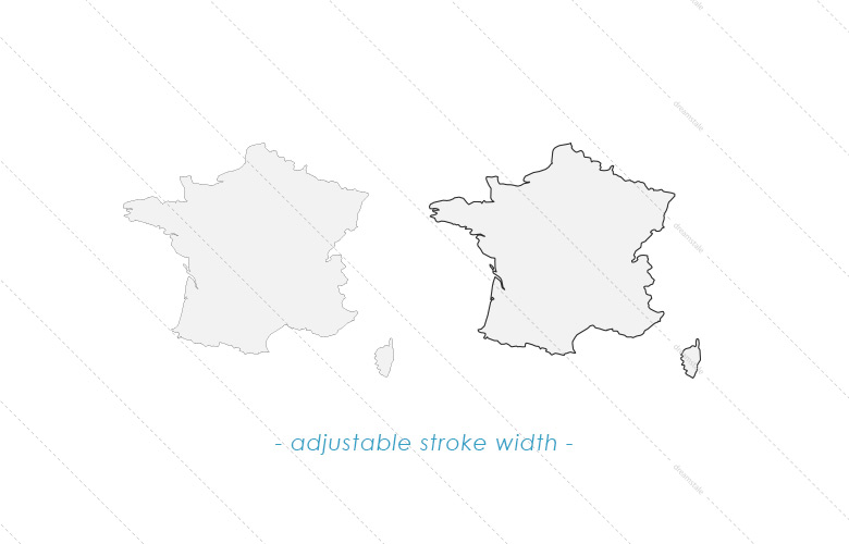 world-map-countries-adjustable-stroke-width