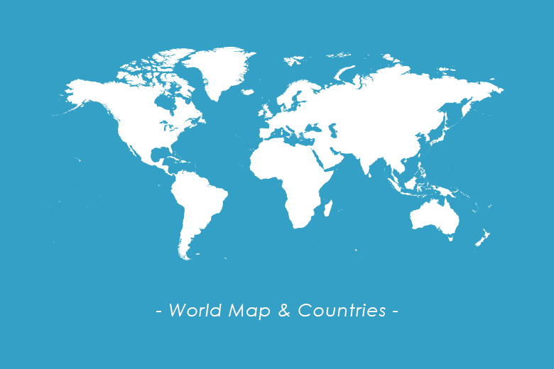 World map countries dreamstale download world vector maps countries gumiabroncs Image collections
