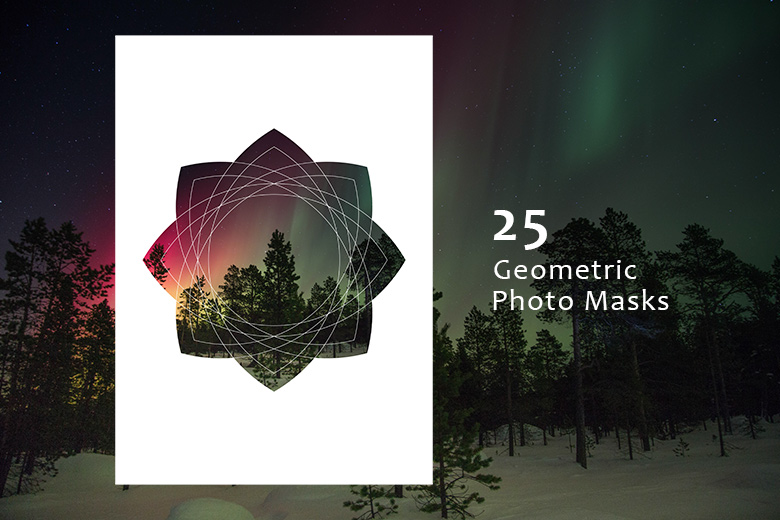 25-Geometric-Photo-Masks