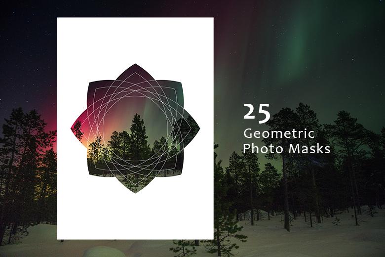 25-Geometric-Photo-Masks