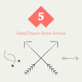 Freebie: Hand Drawn Vector Arrows