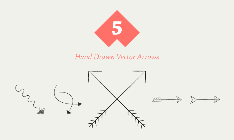 5-free-hand-drawn-vector-arrows