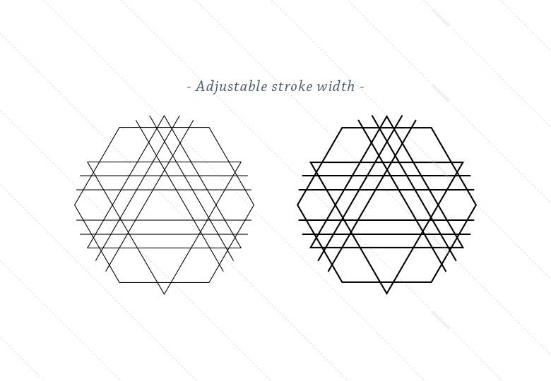 Outline-Geometric-shapes-stroke-width1
