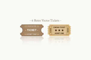 Retro-Vector-Tickets