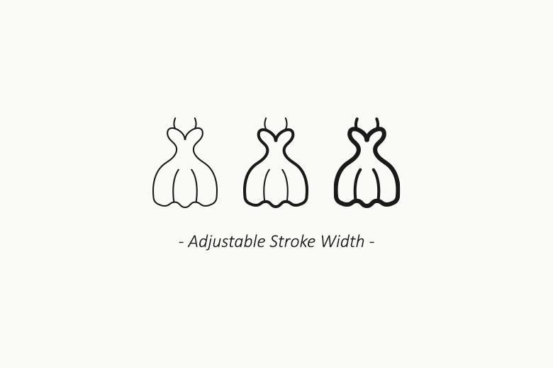 wedding-vector-icons-adjustable-stroke-width