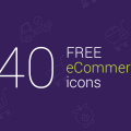 Freebie: 40 eCommerce Vector Icons