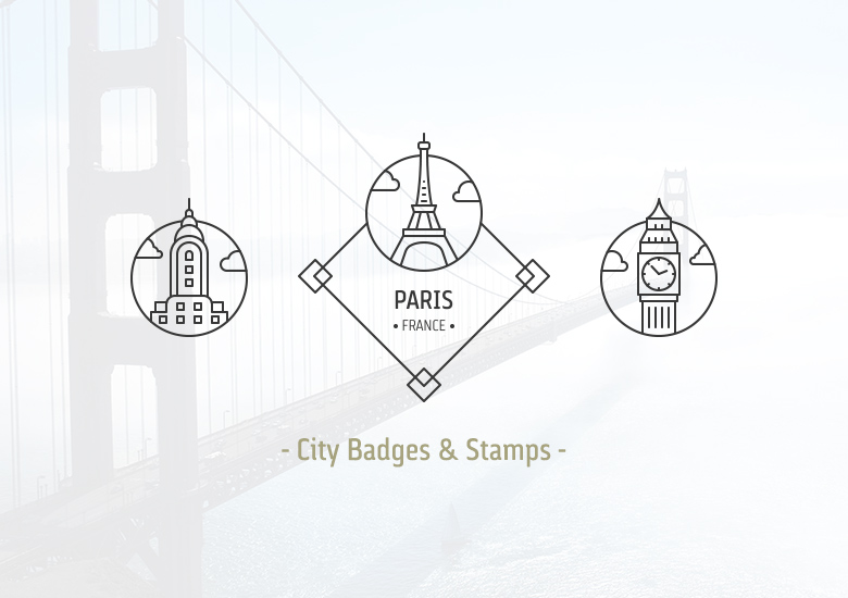 city-badges-stamps